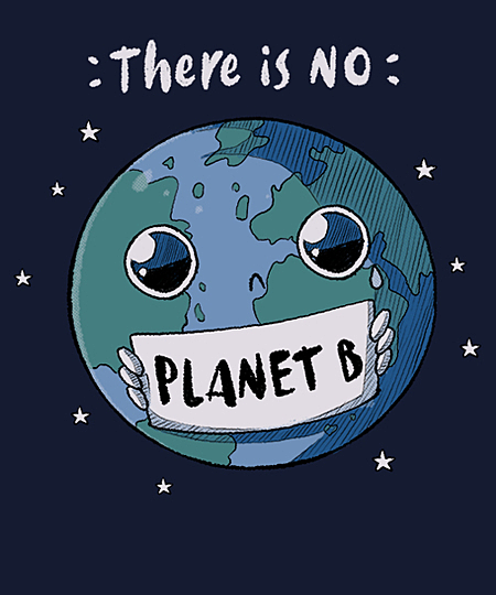 Qwertee: No Planet B
