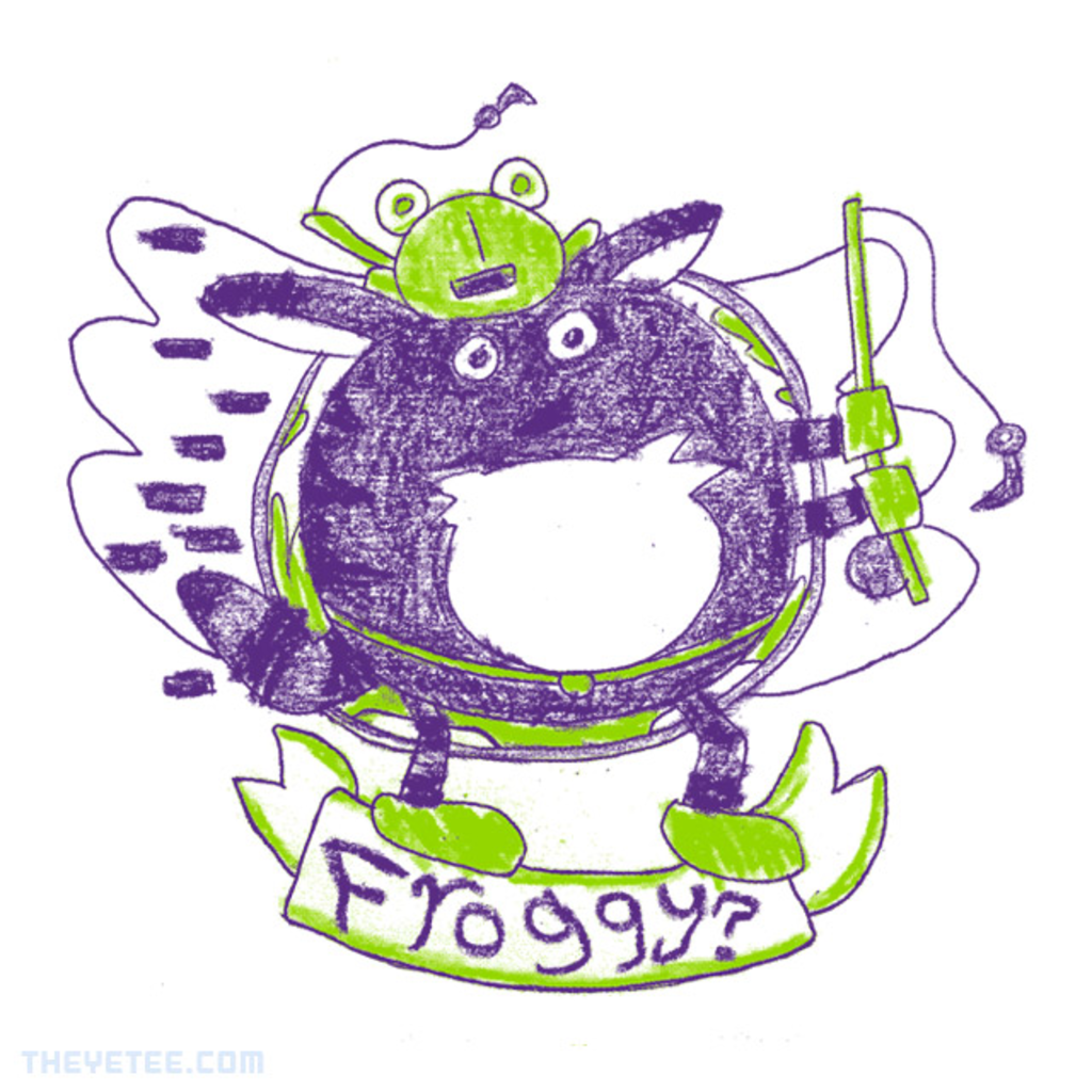 The Yetee: FROGGY?