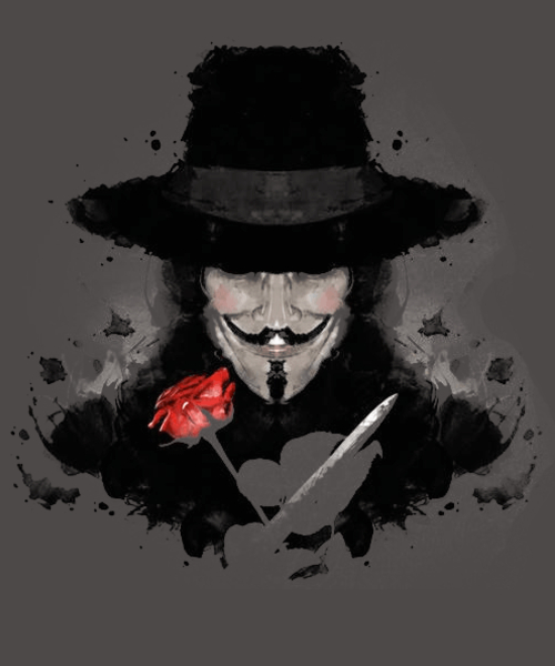 Qwertee: Ink for Vendetta