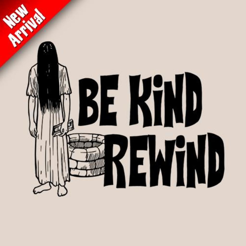 Five Finger Tees: Be Kind Rewind T-Shirt