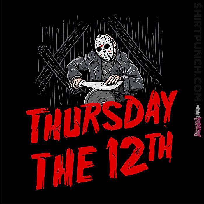 ShirtPunch: Thursday The 12th