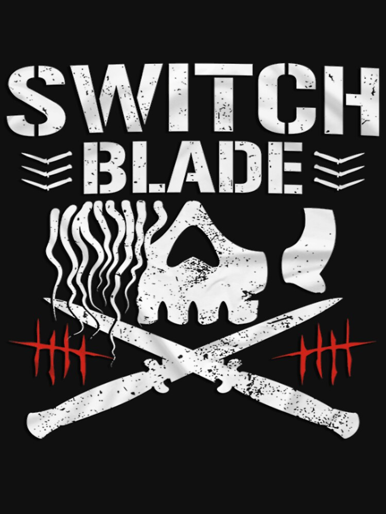 "RedBubble: Jay White - ""Switch Blade"" Bullet Club"