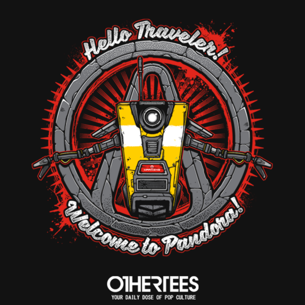 OtherTees: Hello Traveler