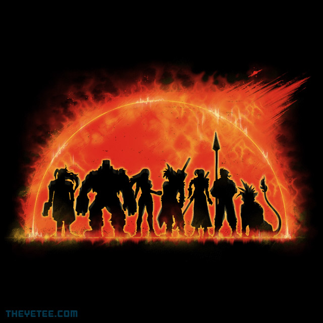 The Yetee: The Fantastic Seven