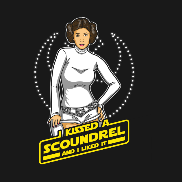 TeePublic: I Kissed a Scoundrel