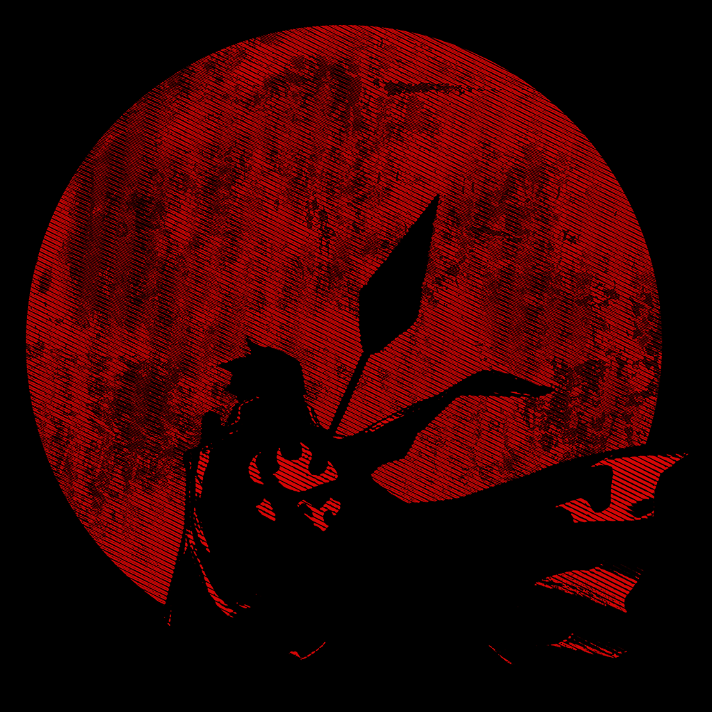Pop-Up Tee: Hero of Guren Moon