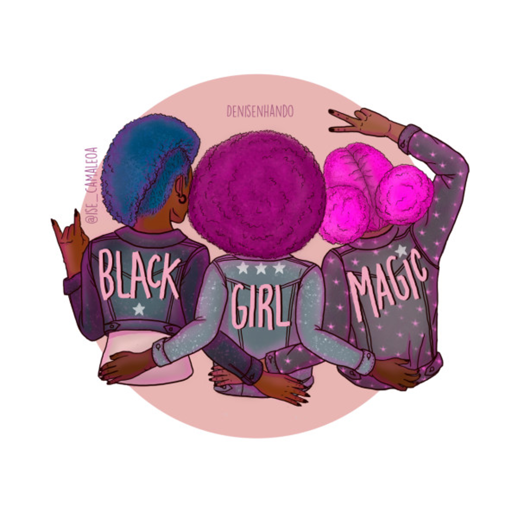 TeePublic: BLACK GIRL MAGIC