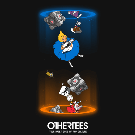 OtherTees: Alice Through The Portal