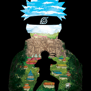 Qwertee: The Hidden Leaf Hero