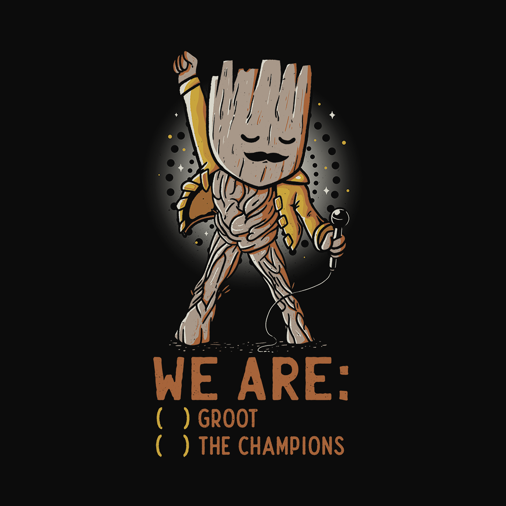 Wistitee: We Are Groot The Champions