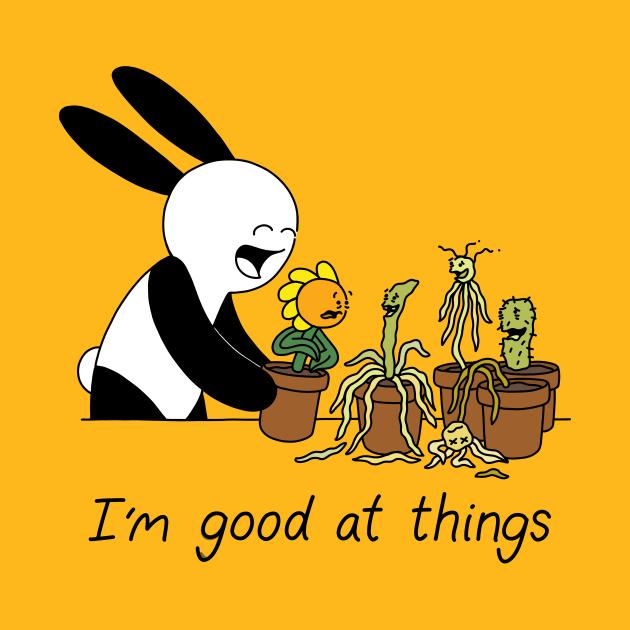 TeePublic: I'm Good At Things