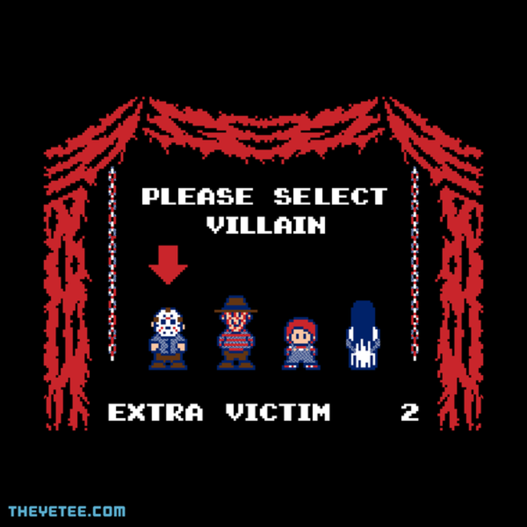 The Yetee: Super Horror Bros.