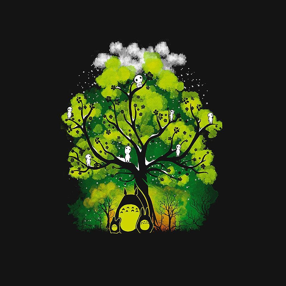 TeeFury: My Neighbor's Forest