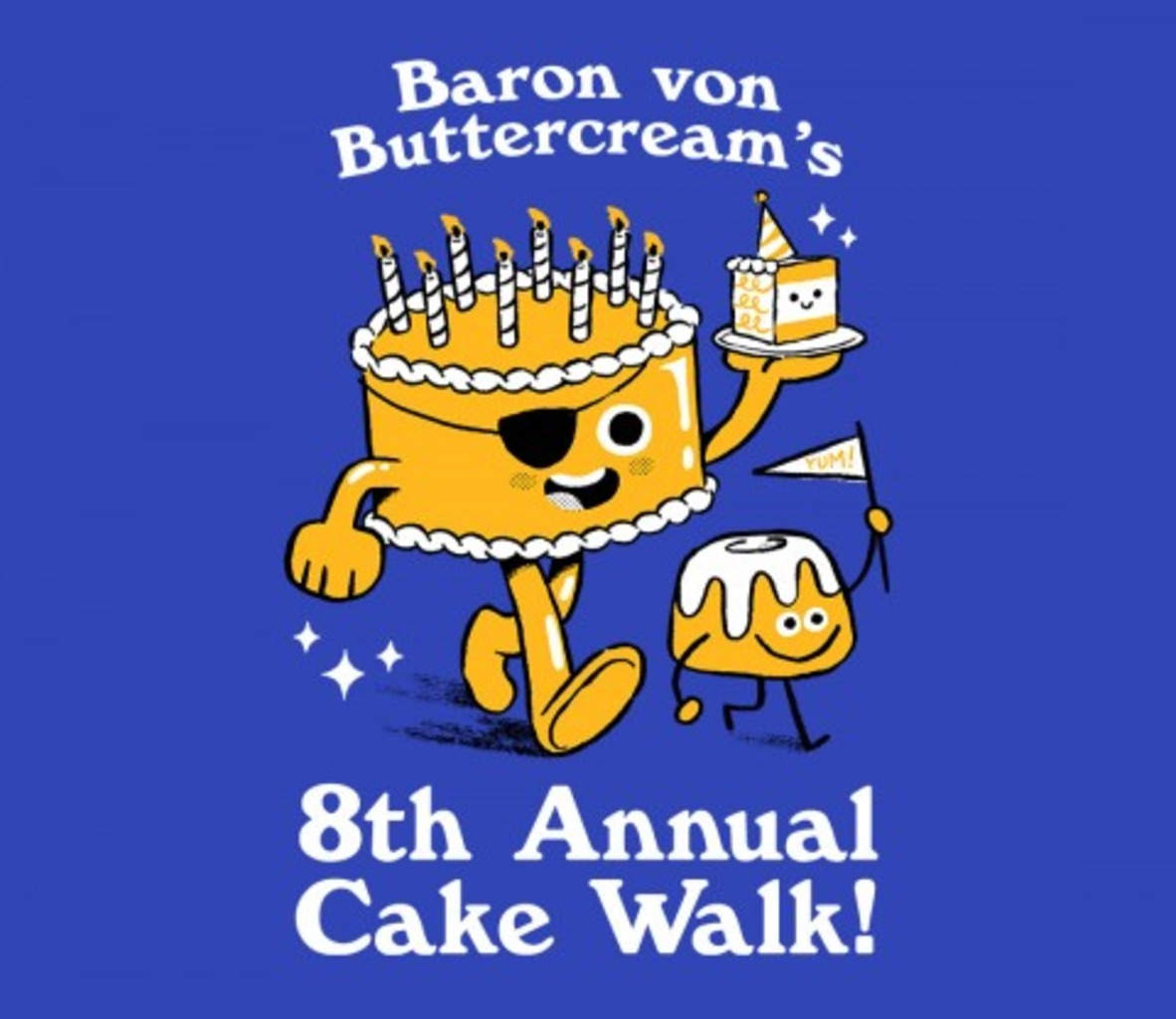 TeeFury: 8th Annual Cake Walk