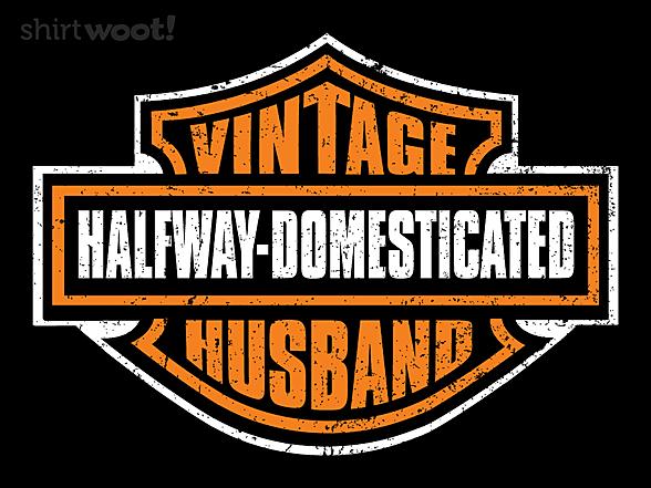 Woot!: Vintage Husband