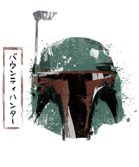 Qwertee: Ink Bounty Hunter