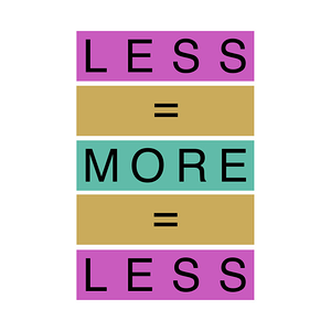 TeePublic: Less Is More