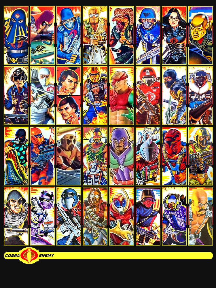 RedBubble: G.I. Joe in the 80s!  Cobra Edition!