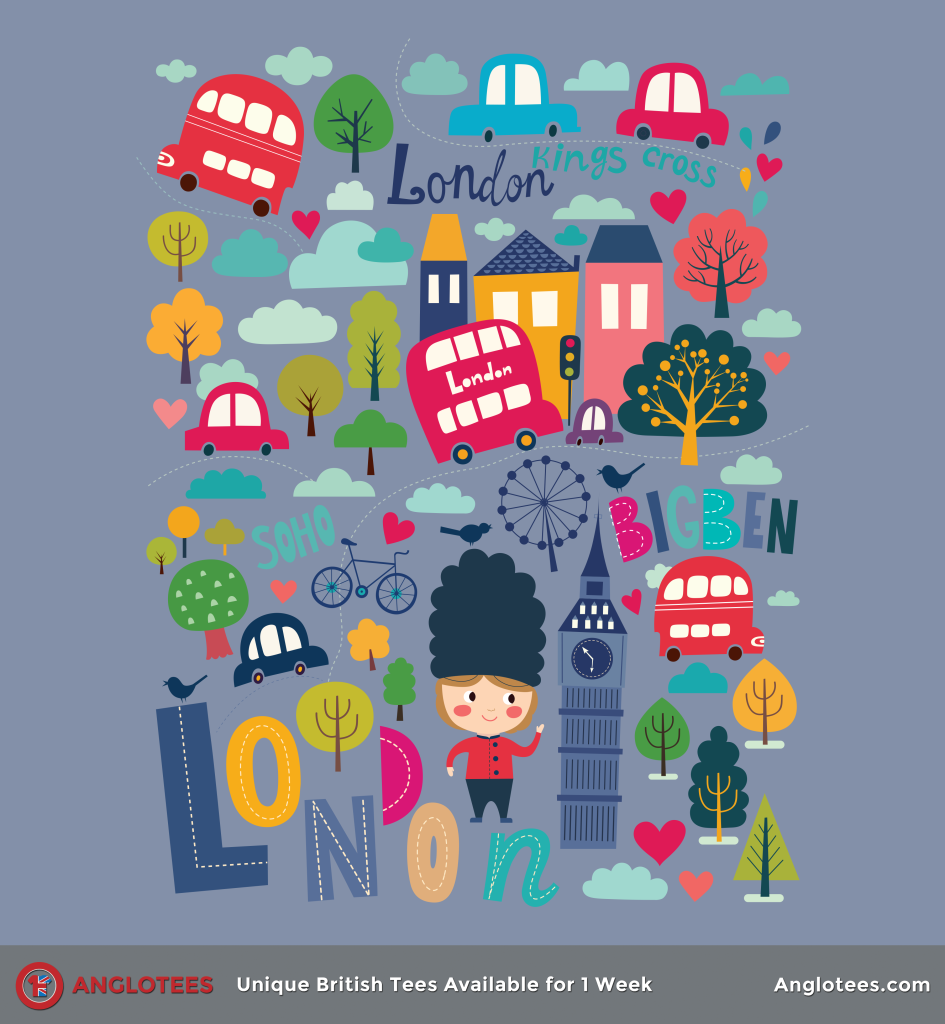 Anglotees: London Colour