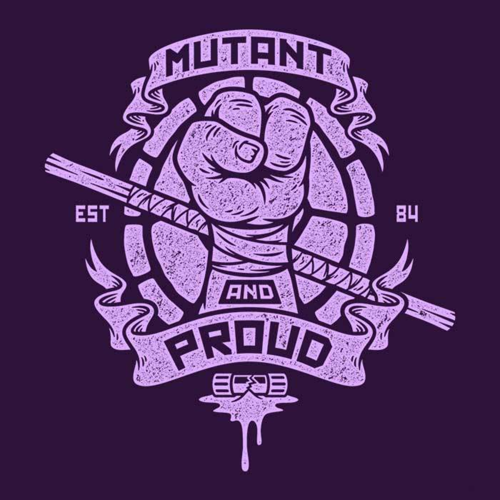 Once Upon a Tee: Mutant and Proud: Donnie