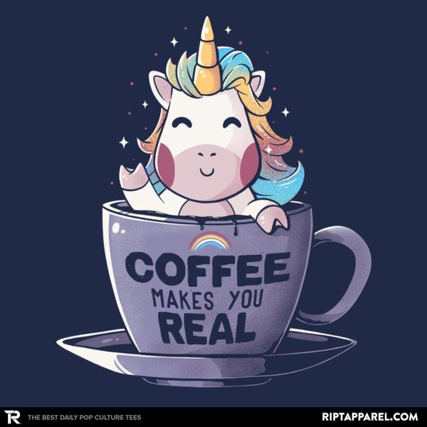 Ript: Coffee Makes You Real