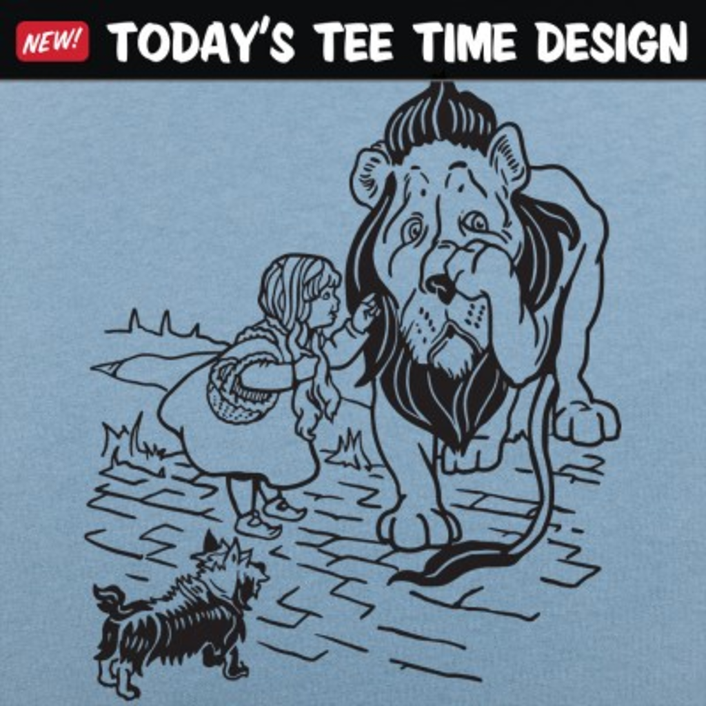 6 Dollar Shirts: Dorothy And Lion