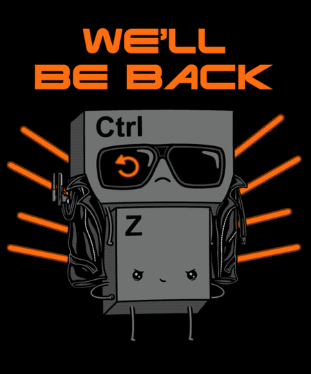 Qwertee: We'll Be Back!