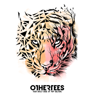 OtherTees: Tiger Geometric