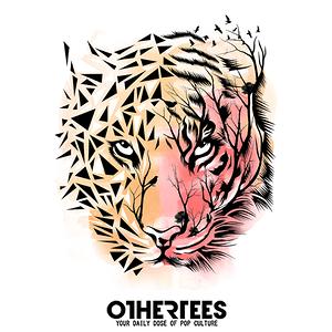 OtherTees: Tiger Geometric
