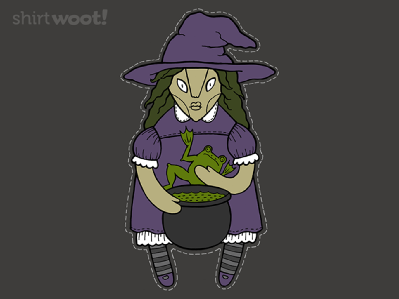 Woot!: Halloween Witch - $7.00 + $5 standard shipping