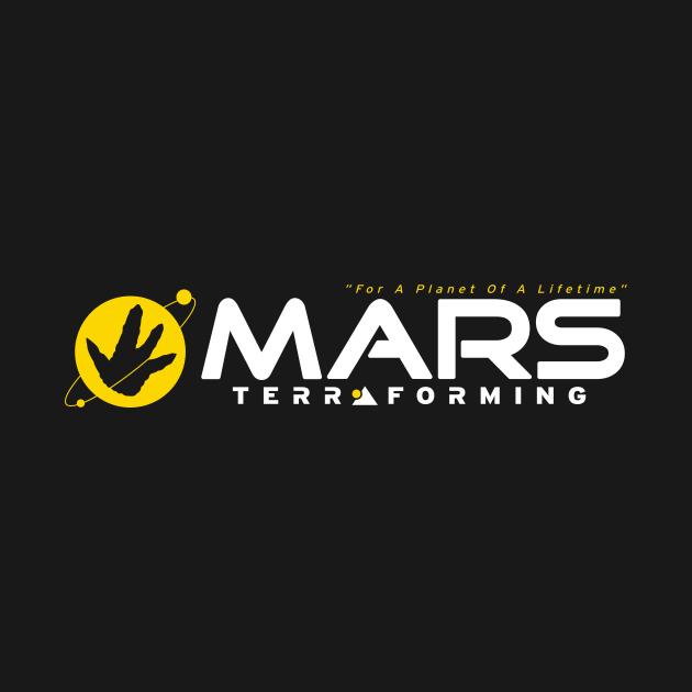 TeePublic: Mars Terraforming