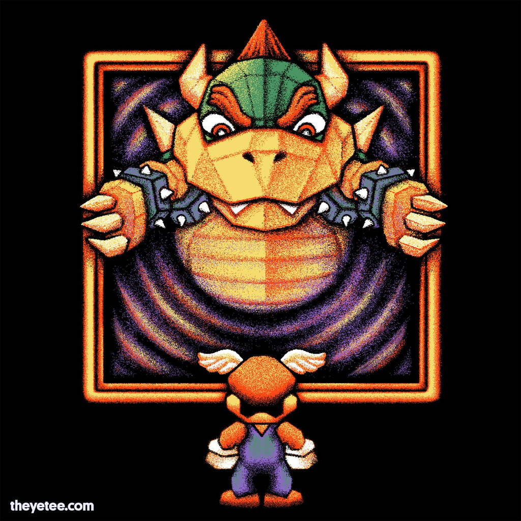 The Yetee: TURTLE KING 64