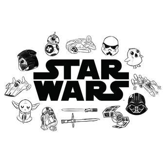 TeeTurtle: Star Wars Doodles