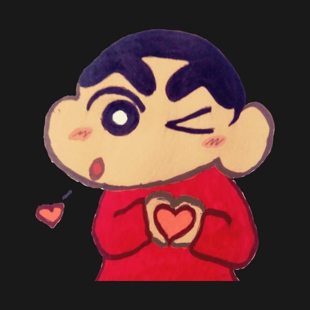 TeePublic: Crayon Shin-chan Love