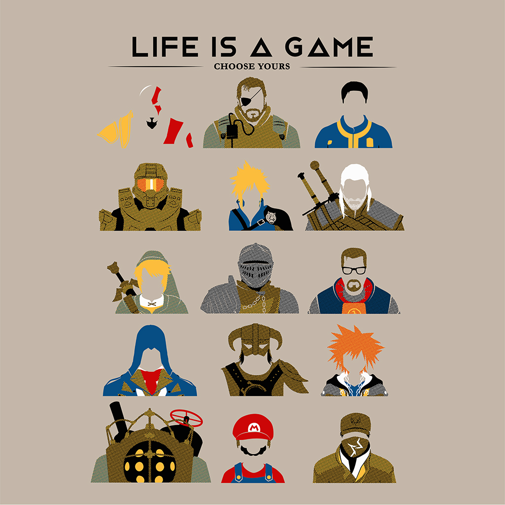 TeeTee: Life is a game