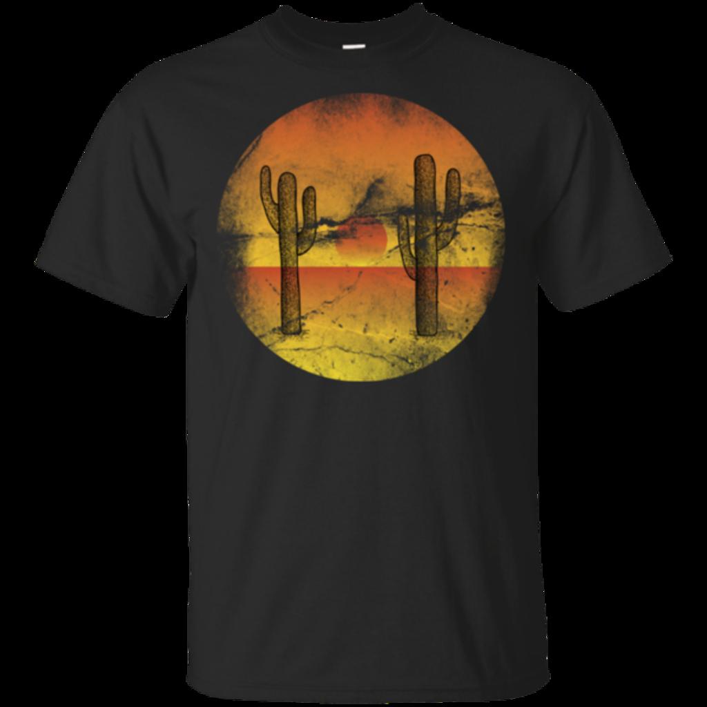 Pop-Up Tee: Cactus Sunset