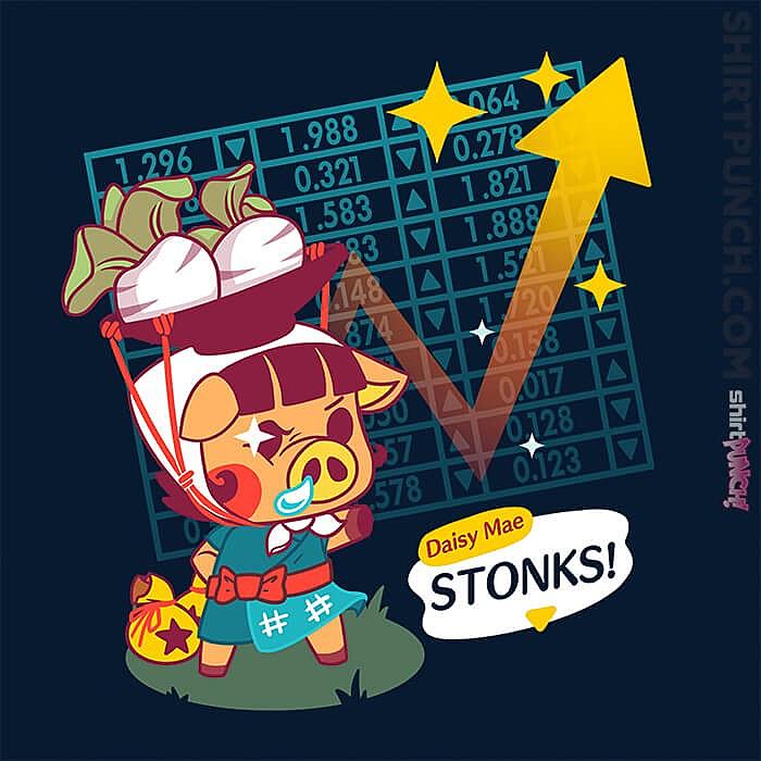 ShirtPunch: Turnip Stonks