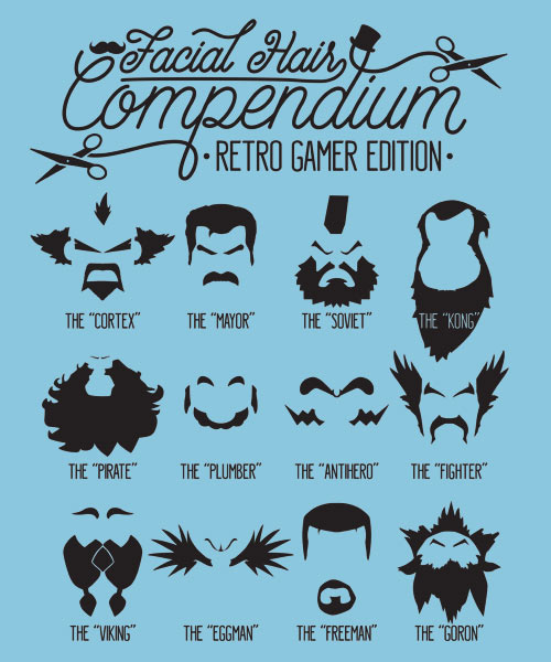 EnTeeTee: The Gamer Facial Hair Compendium