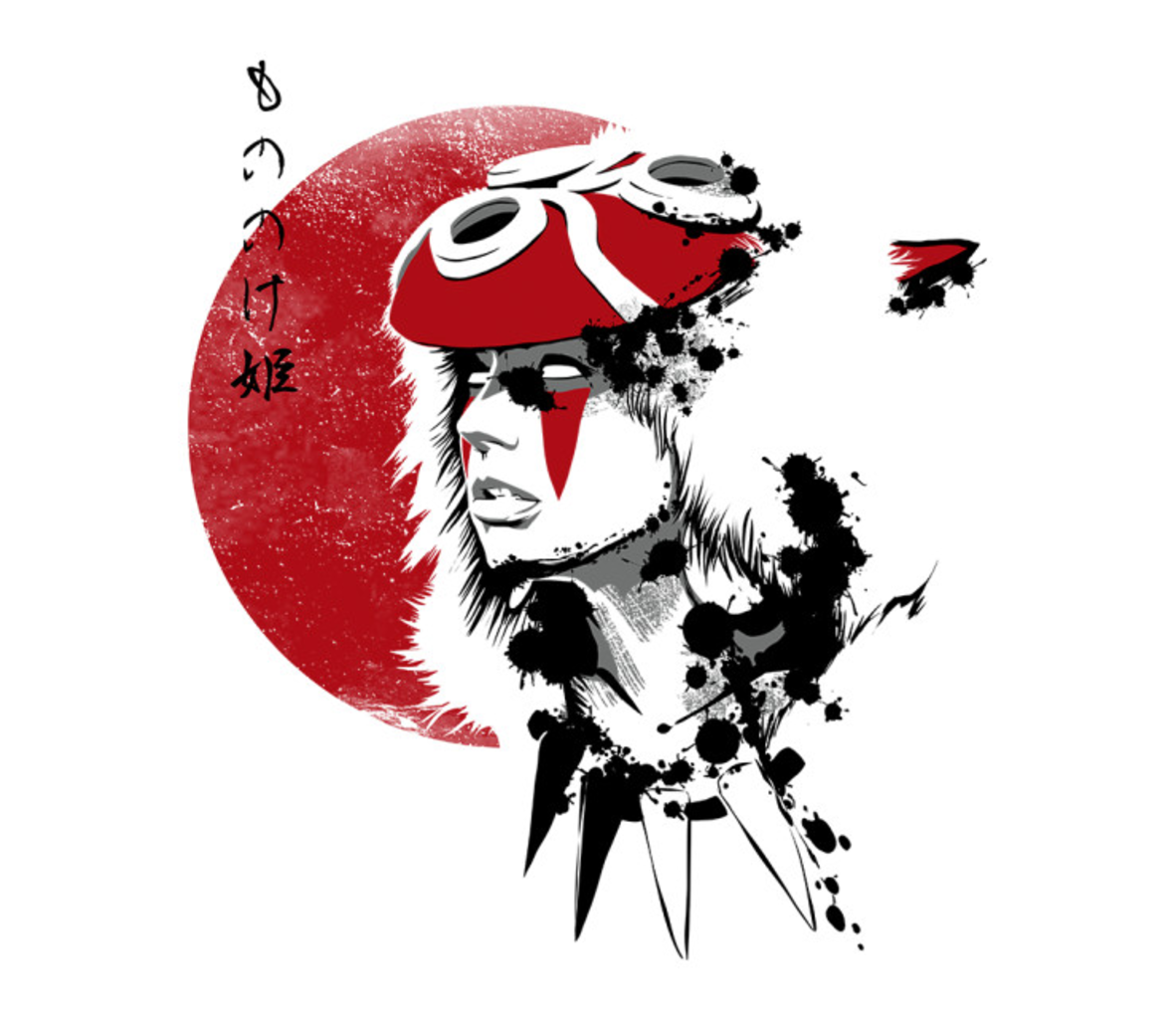 TeeFury: Red Sun Princess