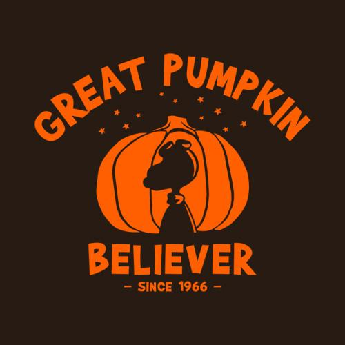 Five Finger Tees: Great Pumpkin Believer T-Shirt