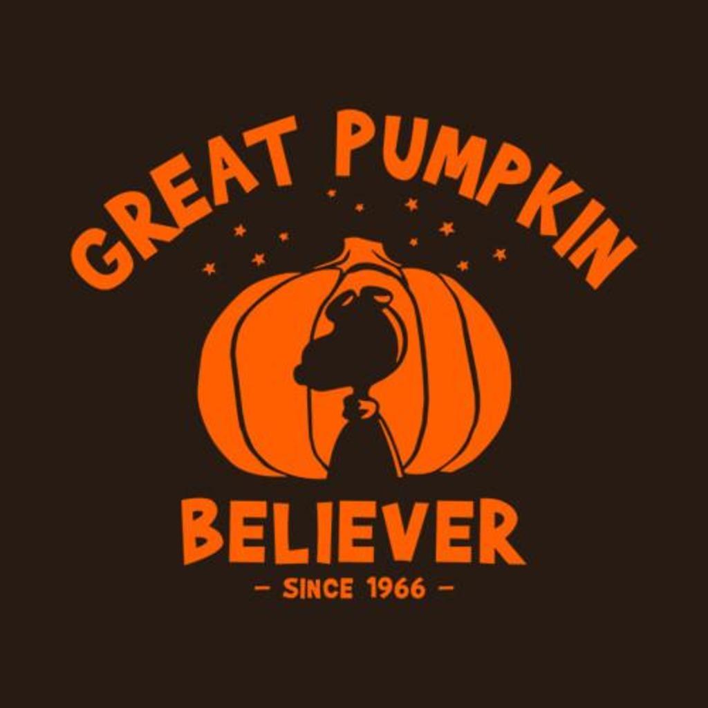 Five Finger Tees: Great Pumpkin Believer T-Shirt