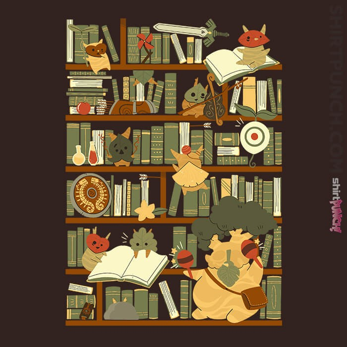 ShirtPunch: Library Of The Wild