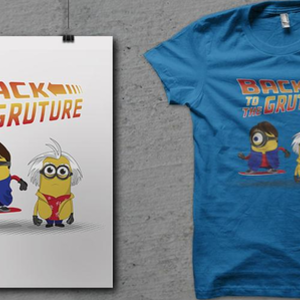 Qwertee: Back to the Gruture