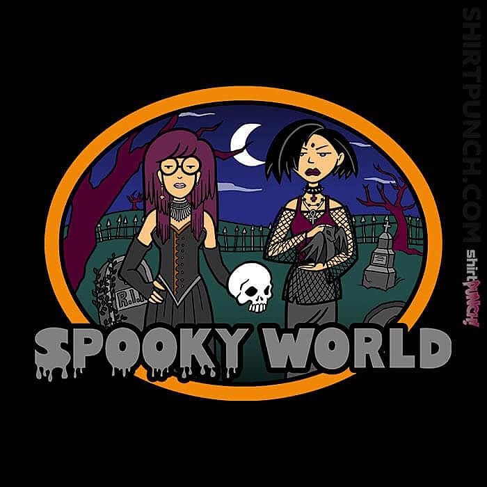 ShirtPunch: Spooky World