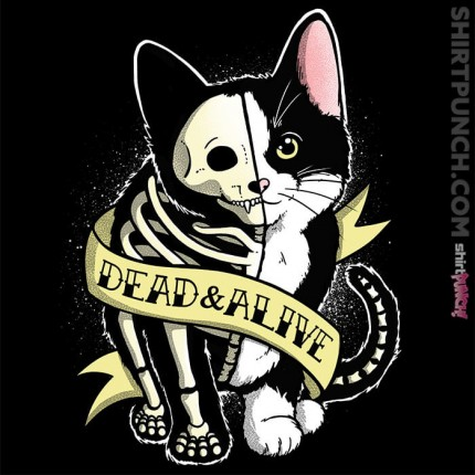 ShirtPunch: Schrodinger cat tattoo