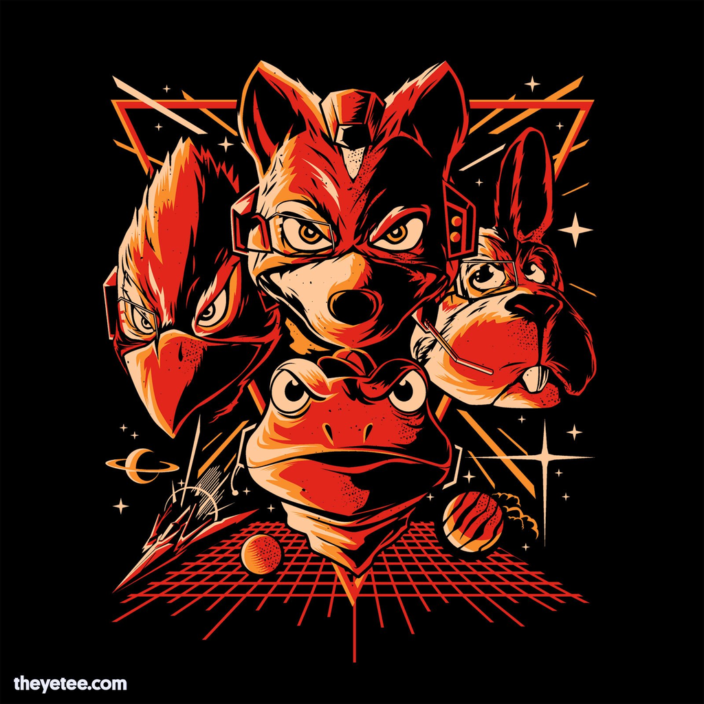The Yetee: Do a Barrel Roll