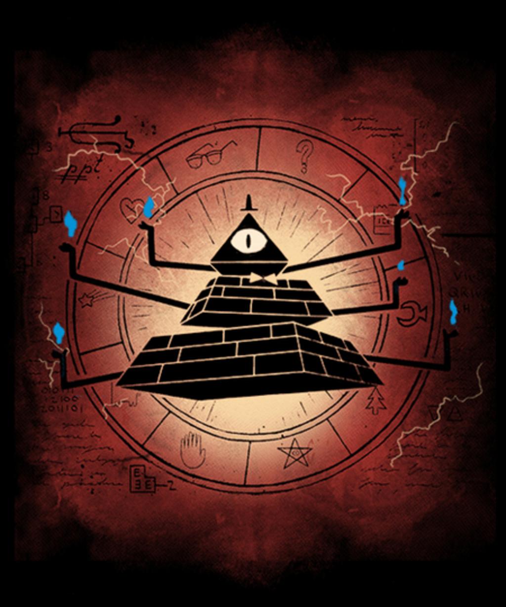 Qwertee: Triangular Demon
