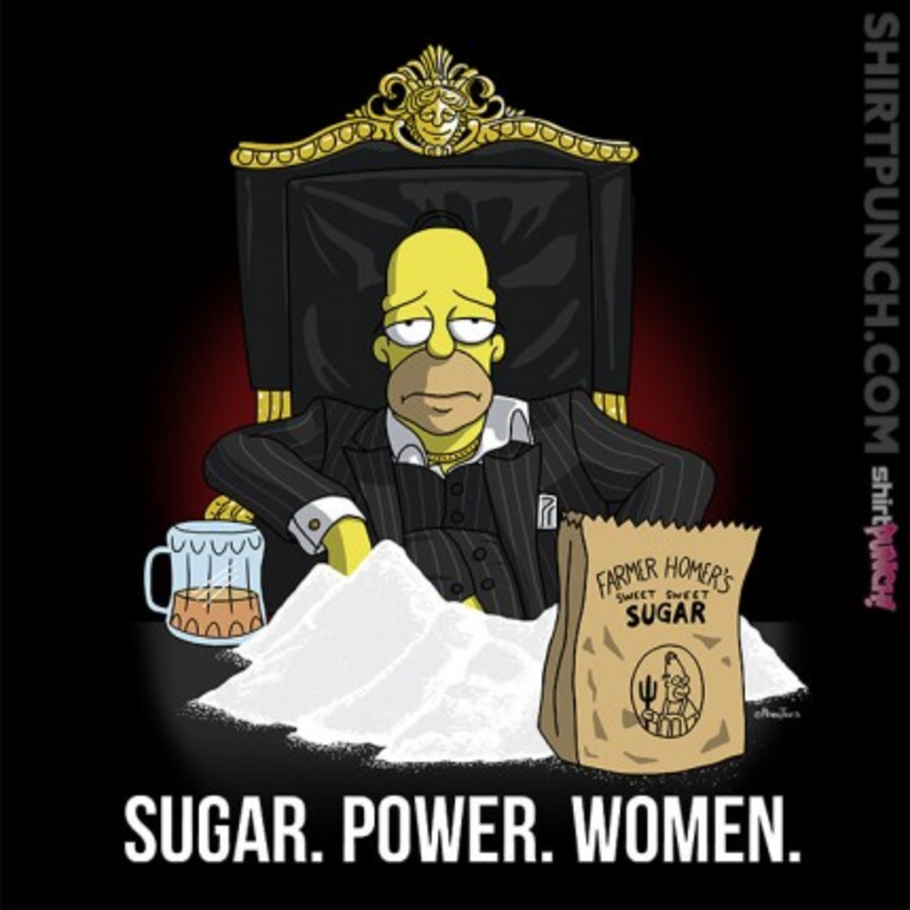 ShirtPunch: Sugar. Power. Women.