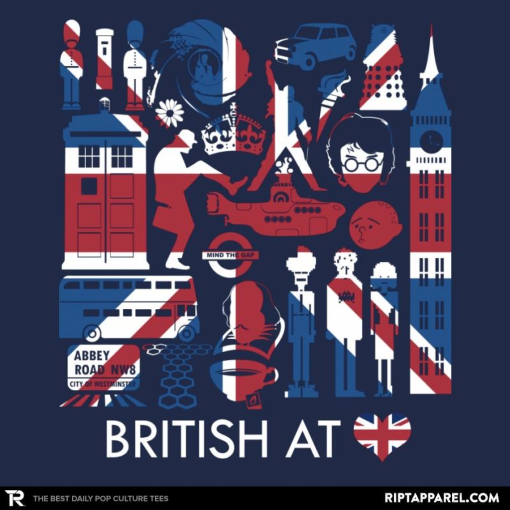 Ript: British At Heart Reprint