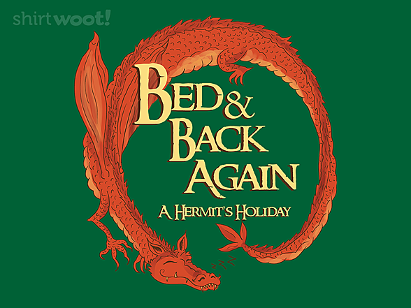 Woot!: Bed and Back Again